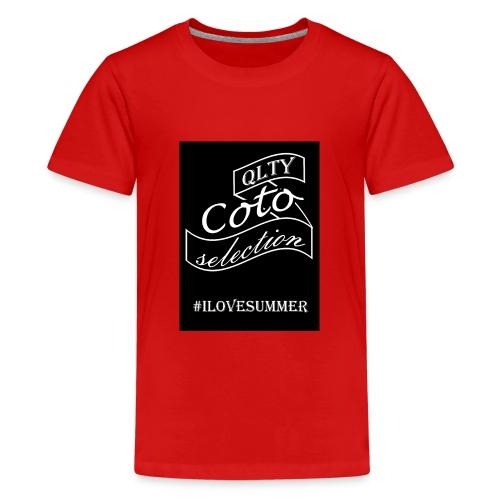 Summer - Teenage Premium T-Shirt