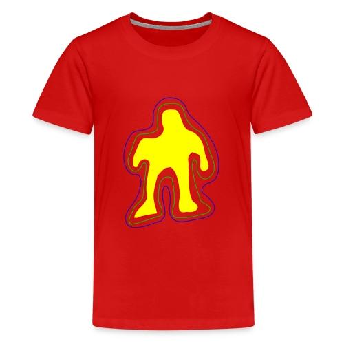 The famous yellow man - Teenage Premium T-Shirt