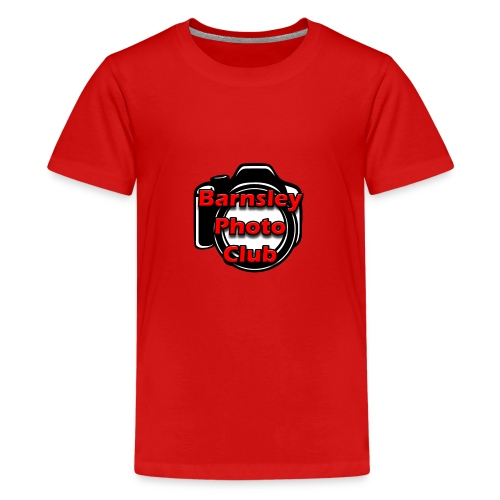 Barnsley Photo Club Logo - Teenage Premium T-Shirt