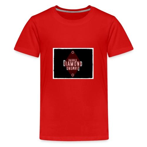 diamond logo - Teenager Premium T-Shirt