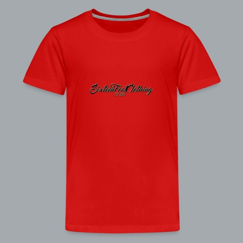SixteenFootClothing EST 2018 - Teenage Premium T-Shirt