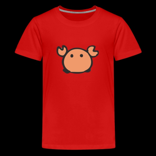 Flumdu_Family Crab - Teenage Premium T-Shirt