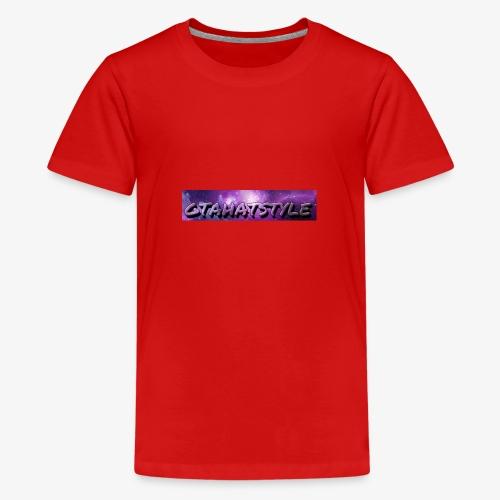 Gtahatstyle-logo - Teenager Premium T-Shirt