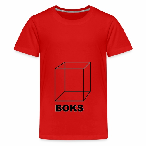 boks transparant - Teenager Premium T-shirt