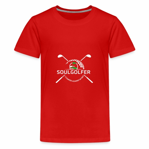 Soulgolfer - I compete against myself - Teenager Premium T-Shirt