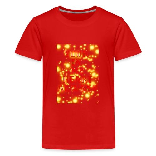 Heart - Teenage Premium T-Shirt