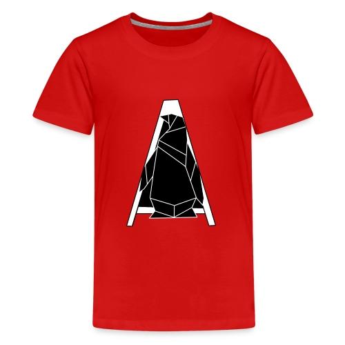 A Penguin Hintergrundlos Pinguin - Teenager Premium T-Shirt