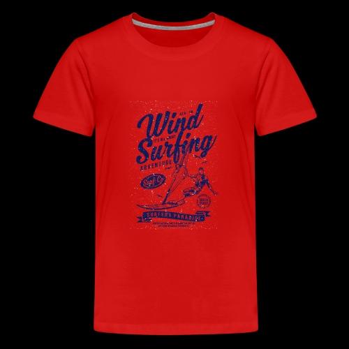 Wind Surfing - Teenager Premium T-Shirt