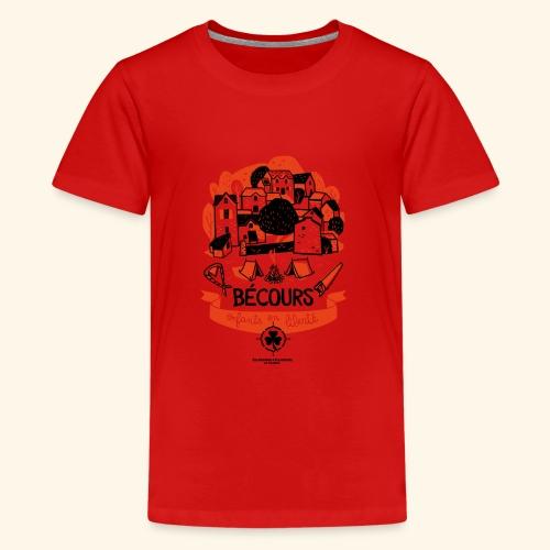 Enfants en liberté - T-shirt Premium Ado