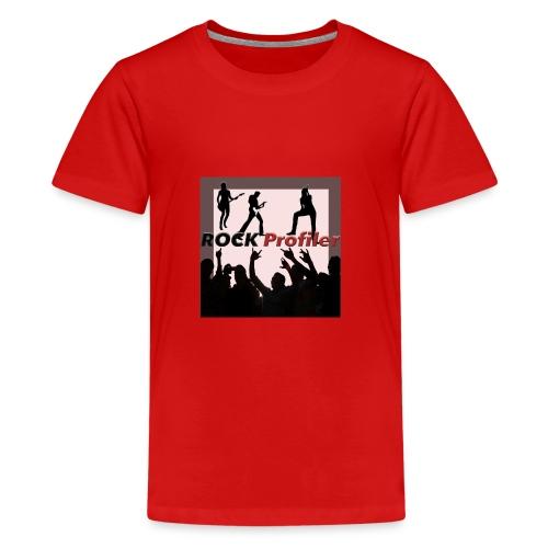 ROCK Profiler on Stage - Premium-T-shirt tonåring