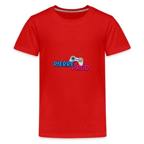 LOGO PIERREPROD - T-shirt Premium Ado