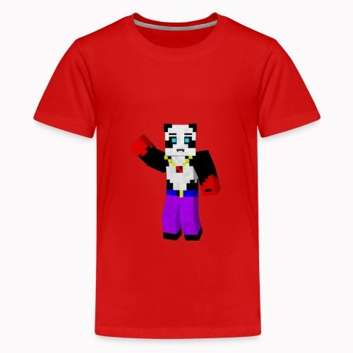 Waving PLAYLOCK1 Shirt - Teenage Premium T-Shirt