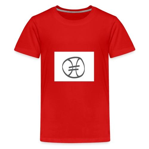 Fußball - Teenager Premium T-Shirt