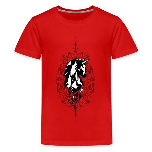 UNICORN GRAPHIC - Teenager Premium T-Shirt