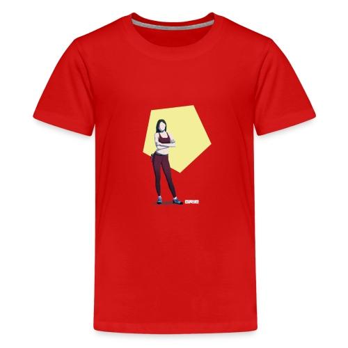 climbing girl - Camiseta premium adolescente