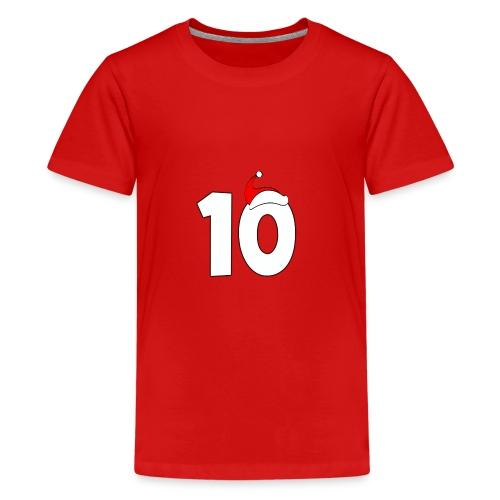 Top10FreshThings christmas - Teenage Premium T-Shirt
