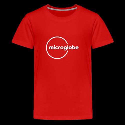 microglobe Logo - Teenager Premium T-Shirt
