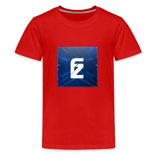 FLeXzZ_Logo_YT - Teenager Premium T-shirt