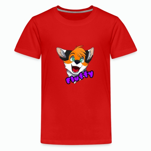 FluffyTheFox Badge - Teenager Premium T-Shirt