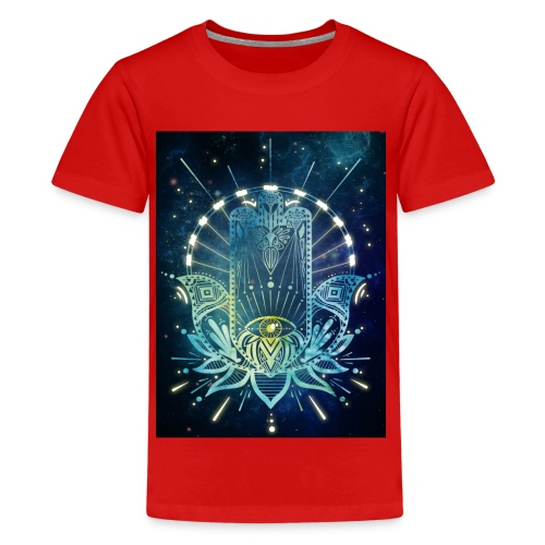 Hamsa Hand - Teenage Premium T-Shirt