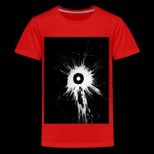 Schwarz Weiß - Teenager Premium T-Shirt