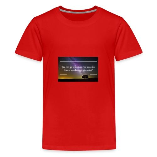 Que ceux qui pensent - T-shirt Premium Ado
