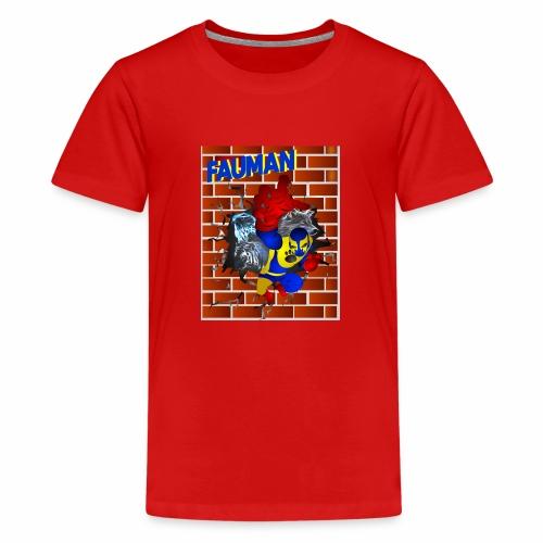 PORTADA FAUMAN - Camiseta premium adolescente