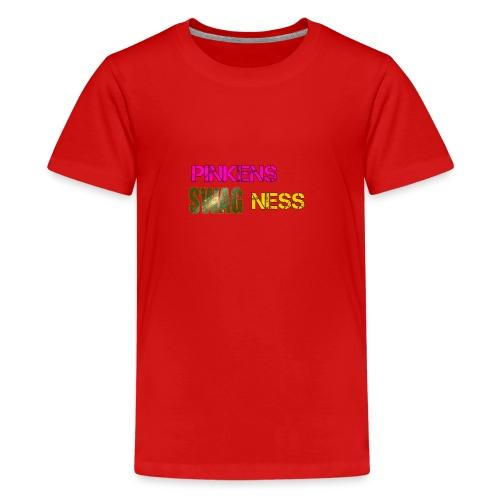 Pinkens swagness - Teenager premium T-shirt