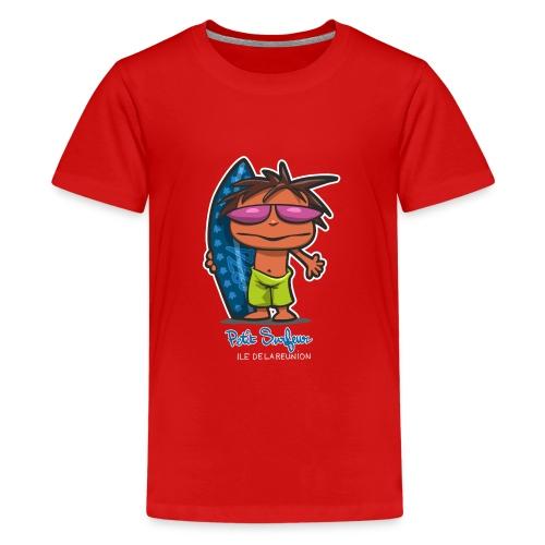 Petit Surfeur Réunion - T-shirt Premium Ado