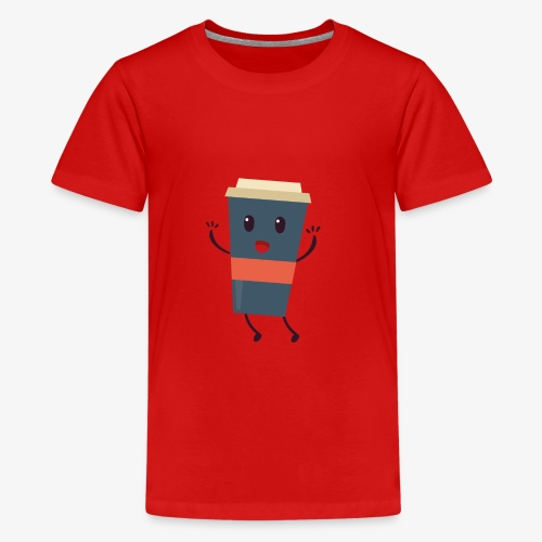 Caffee - Teenager Premium T-Shirt