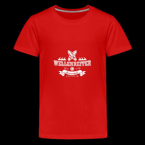 Geweihbaer Wellenreiter - Teenager Premium T-Shirt