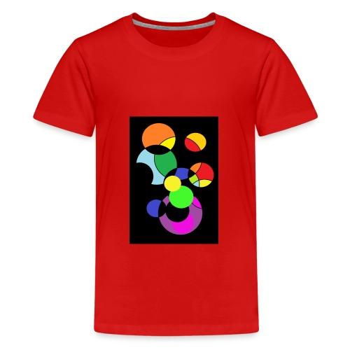 circles - Camiseta premium adolescente