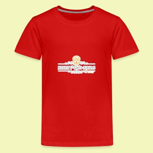 Logo NtnBeauty - Teenager Premium T-Shirt