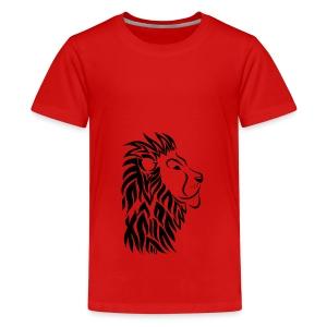 lion tribal shirt - Teenager Premium T-Shirt