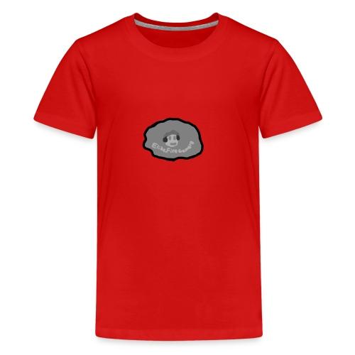 EliteFireGamer0's Rock Design - Teenage Premium T-Shirt