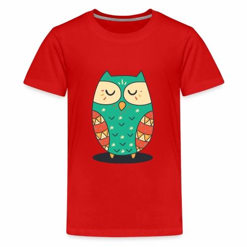 Cute Owl - Teenager Premium T-Shirt