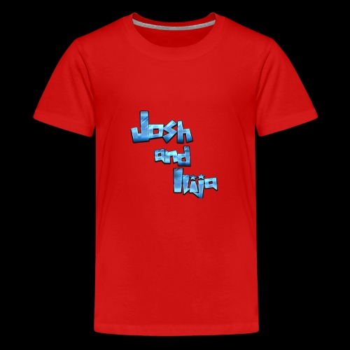 Josh and Ilija - Teenage Premium T-Shirt