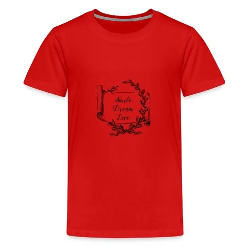 mug humour smile dream live - T-shirt Premium Ado