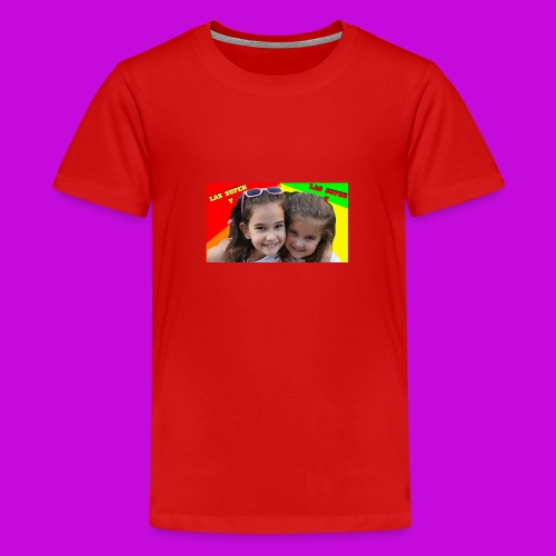 LAS SUPER Y - Teenage Premium T-Shirt