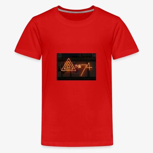 8 no74 02 - Teenager premium T-shirt