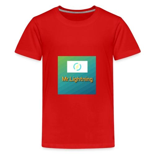 Mr.Lightning - Teenager Premium T-Shirt