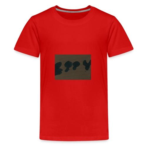 Etty Blue writing merch - Teenage Premium T-Shirt