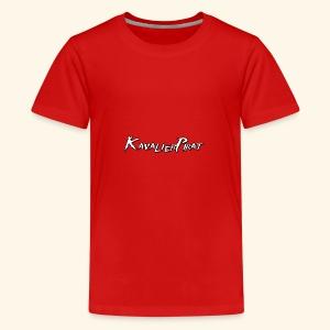 KavalierPirat Schriftzug - Teenager Premium T-Shirt