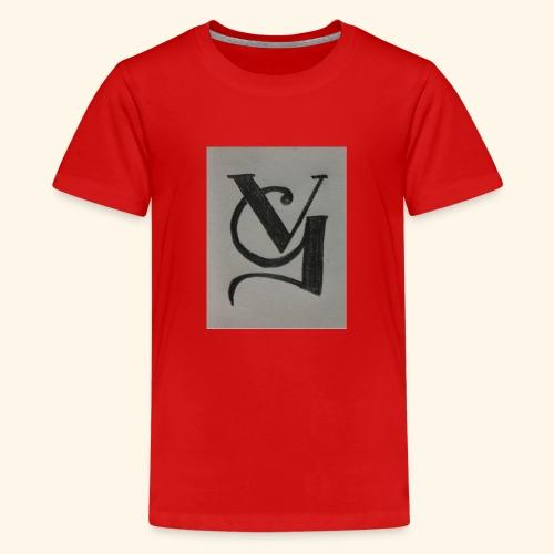 VG - Camiseta premium adolescente