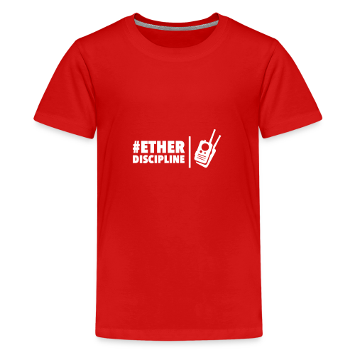 ETHERDISCIPLINE - Teenager Premium T-shirt