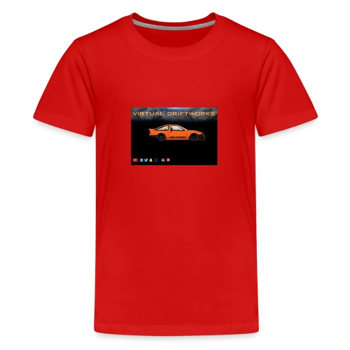 virtual driftworks preview - Teenage Premium T-Shirt