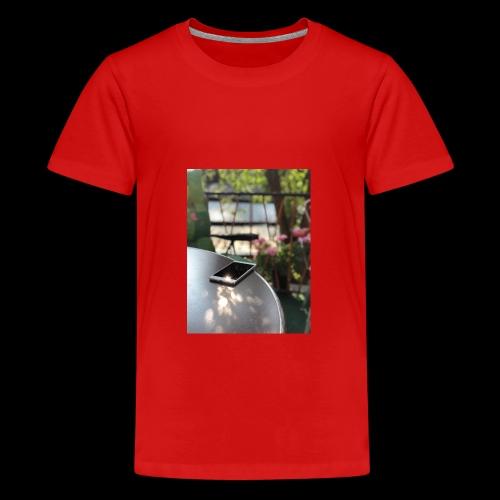 Handypräsentation - Teenager Premium T-Shirt