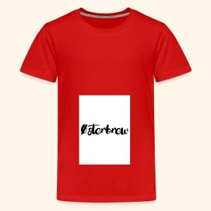Østerbrew - Teenager premium T-shirt