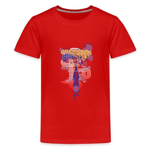 FESTIVAL DANCE / coloreos Hermoso diseño - Camiseta premium adolescente