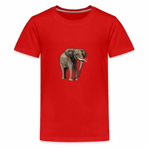 Elefant - Teenager Premium T-Shirt